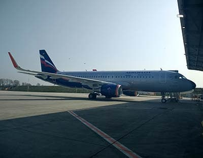 AviaAM Financial Leasing China delivers brand-new Airbus A320 to Aeroflot