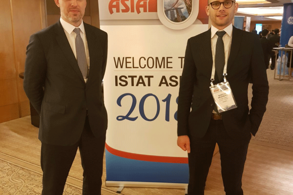 Tadas-Goberis-and-Mantas-Meizneris-attending-ISTAT-ASIA-2018-in-Singapore