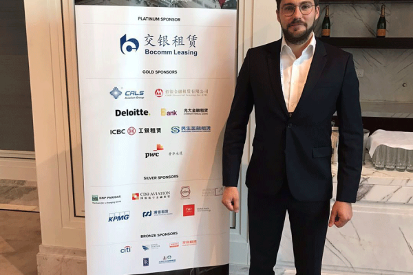Tomas-Sidlauskas-at-The-China-Airfinance-Conference-2018-in-Shanghai