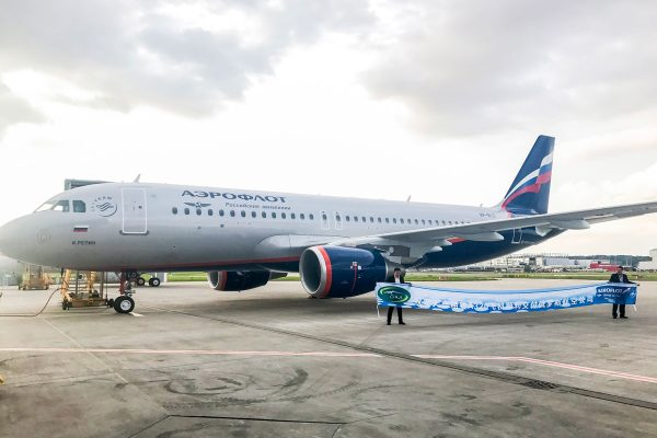 airbus-A320-delivered-to-its first-operator-Aeroflot